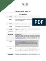 Reglamento Campeonato Nacional Infantil - Tac Medellin 2015