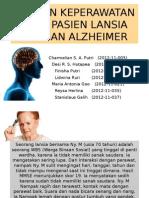 Asuhan Keperawatan Pada Pasien Lansia Dengan Alzheimer