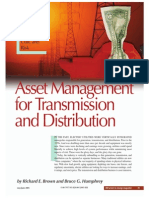 Asset Management for Transmission and Distribution