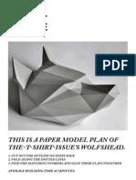 Máscara de Origami