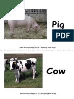 Flashcards Farm Animal