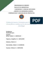 Evaluacion Tecnica y Socioeconomica Para La Instalación de Una Fábrica de Casabe en La Zona Norte Del Estado Anzoategui