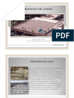 Cubicacion de Losas PDF