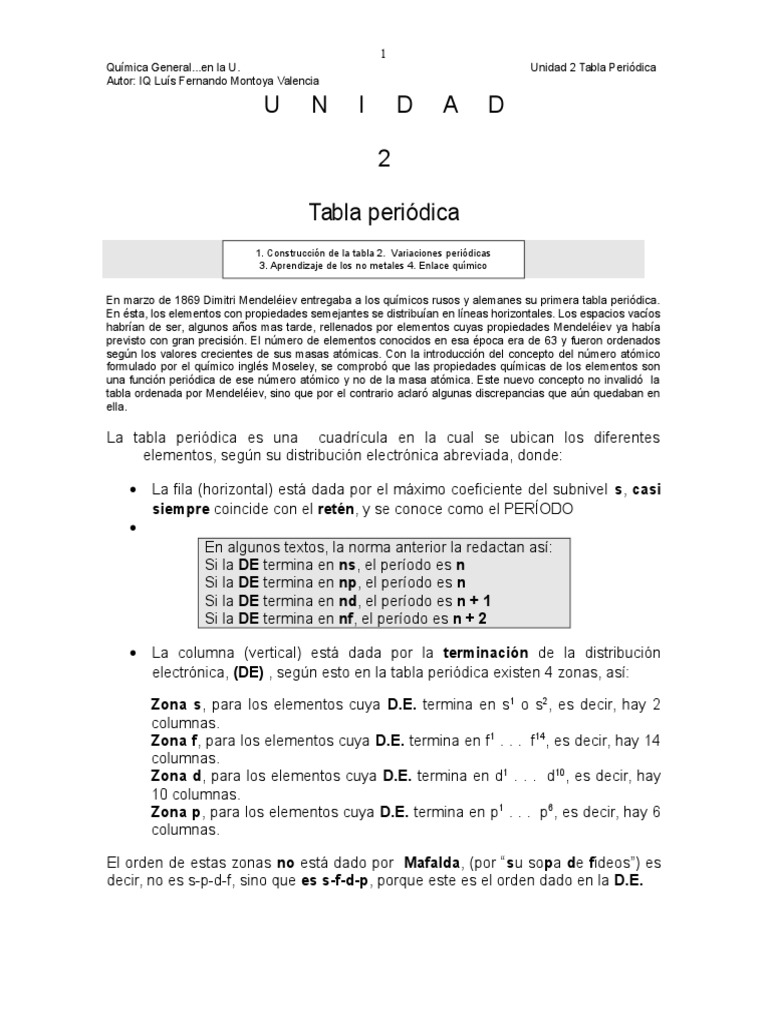 Cap 2 tabla periodica urtaz Choice Image