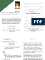 Recital Program Copy