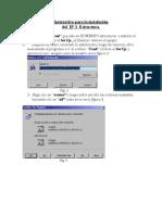 Instructivo Para La Instalación IP-3