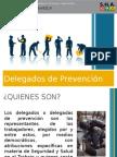 Presentacion Delegados y Delegadas de Prevención