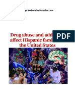 Drug Abuse and Addiction Affect Hispanic Families in the United States