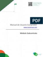 Manual Subcontratos 13082013