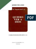 Quiero Ver a Dios - P. Maria Eugenio Del Nino Jesus