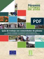 04 Guia de Trabajo Con Comunidades de Paramo Baja