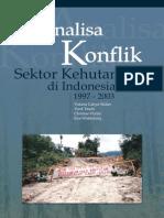 Analisa Konflik Sektor Kehutanan