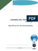 FMR 001 Identificacion de Necesidades