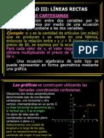 UNIDAD III - Líneas Rectas