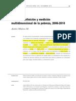 Mideros Definicion Medicion Multidimensional Pobreza Ecuador