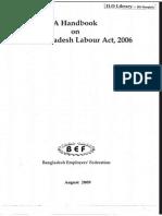 A Handbook on the Bangladesh Labour Act 2006
