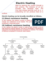 3 Methods of Electric Heating