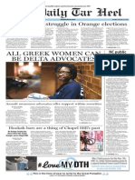 The Daily Tar Heel for Oct. 20, 2015