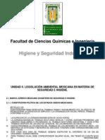 Higiene y Seguridad Industrial. Unidad II. (2014-2)