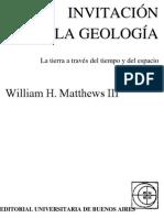 Invitación a La Geologia - Williams Matthews
