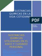 Sustancias Químicas de Uso Cotidiano Profesora Hilda Fermin