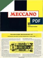Meccano - Mechanisms Manual - 1970