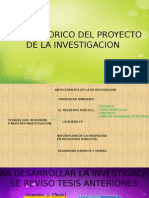 ejemplo de tesis de marco teorico