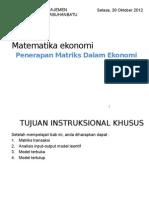 Penerapan Matriks Dalam Ekonomi-140318110423-phpapp02