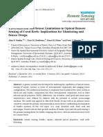 Remotesensing-04-00271_Environmental and Sensor Limitations in Optical Remote Sensing of Coral Reef