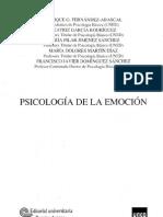 Psicologia de La Emocion Uned PDF