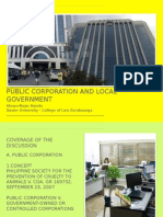 Municipal Corporations - Introduction