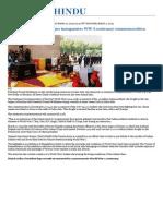 President Pranab Mukherjee Inaugurates WW-I Centenary Commemoration - The Hindu