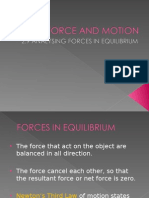 2.9 Analysing Force in Equilubrium