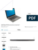 Dell Inspiron 13 7352 Laptop Reference Guide en Us