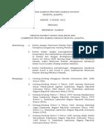 Perda DKI No 3 Tahun 2012 Retribusi