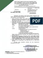 Surat Edaran Pemotretan KPE 2015