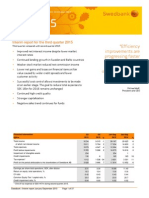 Swedbank interim report third quarter 2015