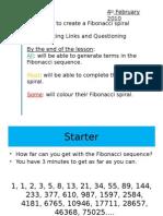 6) Fibonacci Spiral (2)