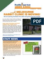 The Melbourne Rabbit Clinic Newsletter