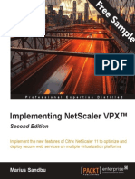 Implementing NetScaler VPX™ - Second Edition - Sample Chapter