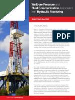 API_Wellbore Pressure & Fluid Communication