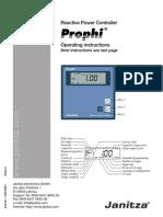 Janitza Manual Prophi En