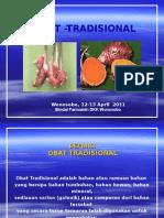 Obat tradisional untuk pengobatan herbal