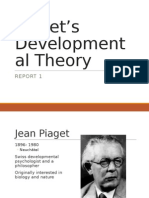 Piaget's Developmental Theory