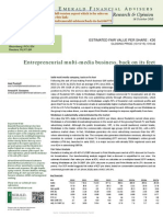 roularta summary initiation research report by emerald 151014