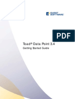 ToadDataPoint 3.4 GettingStarted