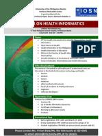 Health Info Seminar