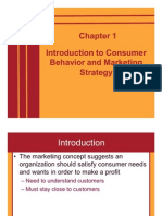 Ch 01 Introduction to Consumer Behaviour