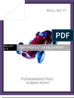 New Product Development Pgdm (Mktg)