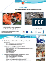 Public and Civil Society in Emergency Response and Recovery